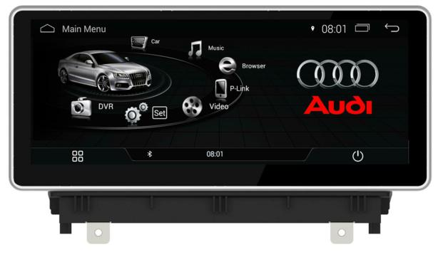 "10.25""Audi A3 MMI 2G 3G Android Touchscreen GPS Navigation Multimedia Bluetooth Screen Mirroring Usb Fm Aux"