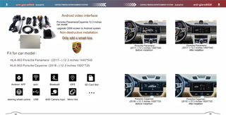 Porsche Cayenne Multimedia Video Interface Android 8 Fm Aux Usb Sd Gps Navigation 4g Wifi Mirroring