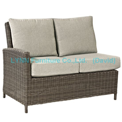 Wicker Furniture Right Part Rattan Corner Sofa