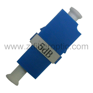 Male to Female Singlemode 5dB LC Optical Attenuator