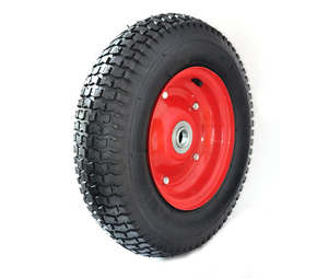 16*6.50-8 Wear-Resistant Rubber Wheel for Hand Truck