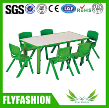 Simple Design Popular Children Study Desk Kindergarden Furniture(SF-09C)