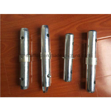Electro galvanized scaffolding coupling pin