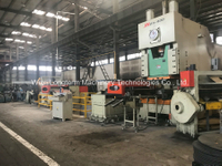 Mechanical Decoiler, Straightening and Blanking Line with High Efficiency