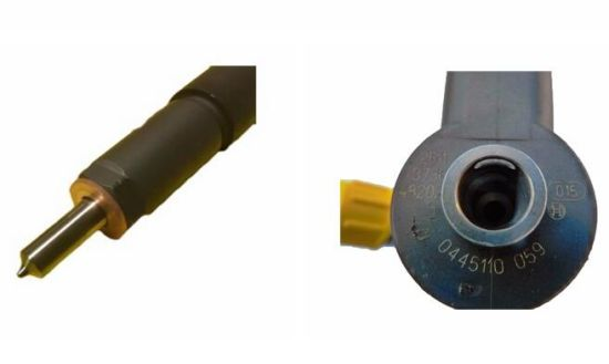 Common Rail Diesel Engine Parts 0445110059 Fuel Injector