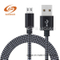 USB Thread Net Tail Braided Charging Data Cable for Android