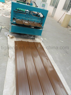 High Quality Easy Fabricating Trapezoidal Color Painted Galvanized Steel Roofing Sheet