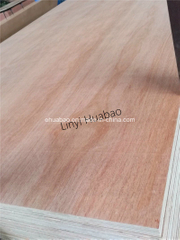 Okume Plywood Poplar Core E1 Glue BB/CC Grade
