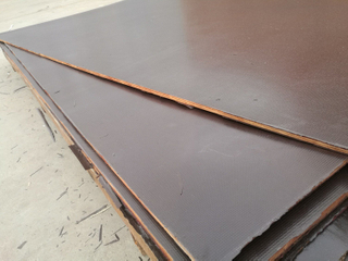 Poplar/Birch/Combined Core Film Faced Plywood for Constructions Marine Grade (HB020)