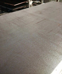 Anti-Slip Plywood/Wiremesh Plywood with Poplar Core Brown Film First Grade