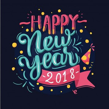 Welcome new year 2018