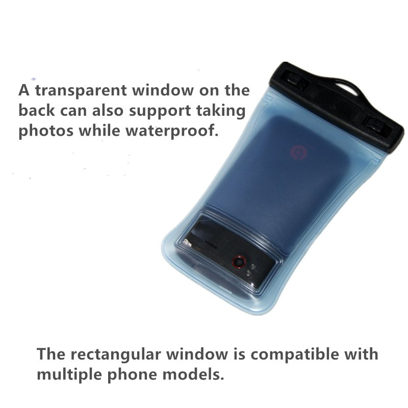 High Quality Transparent Universal Waterproof Pouch/Bag for Mobile Phone