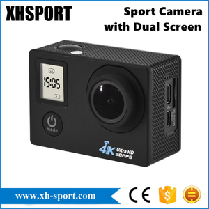 4K Waterproof WiFi Sport Camera Action Cam with Dual Screen