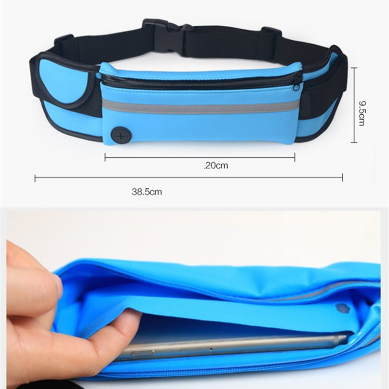 Mult-Pocket Outdoor Sport Running/Jogging/Hiking Waist Bag/Pack
