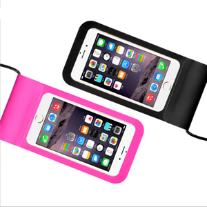 Universal TPU Waterproof Phone Bag High Protective Swimming Phone Bag Resistant Waterproof Phone Bag for IPhone