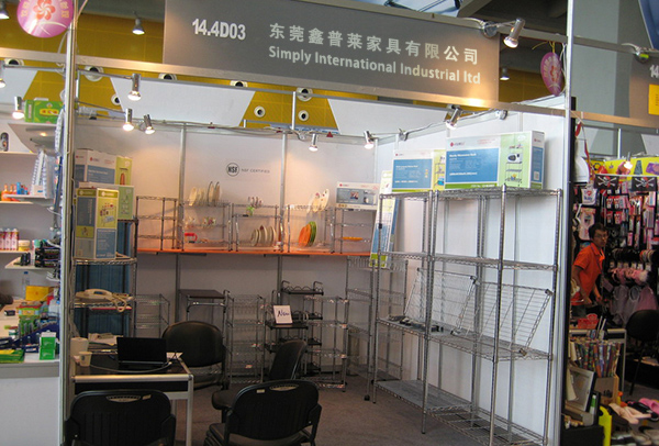 canton fair wire shelving factory