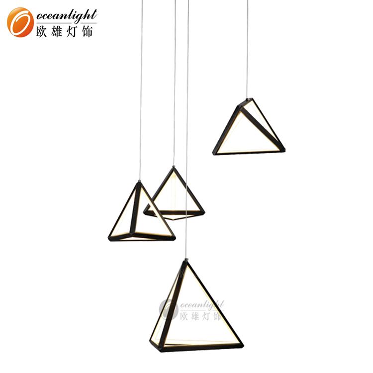 New Design LED Triangle Aluminum Pendant Lamp OM801700