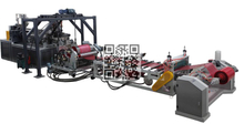 MX-1000D Double Color/Two layer Plastic Sheet Extruder Machine