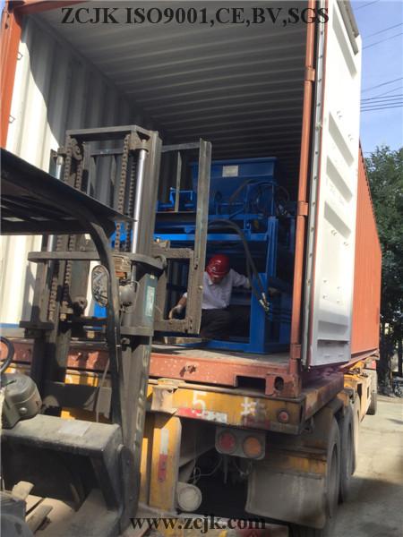 Nigeria ZCJK 4-20A Block Machine (5)
