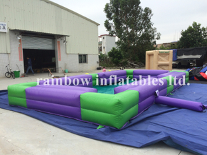 RB10005(8x4x0.6m) Inflatable high quality snooker Ball Football Field Football Table Games