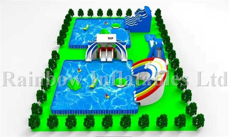 inflatable water park inflatable park inflatable playground