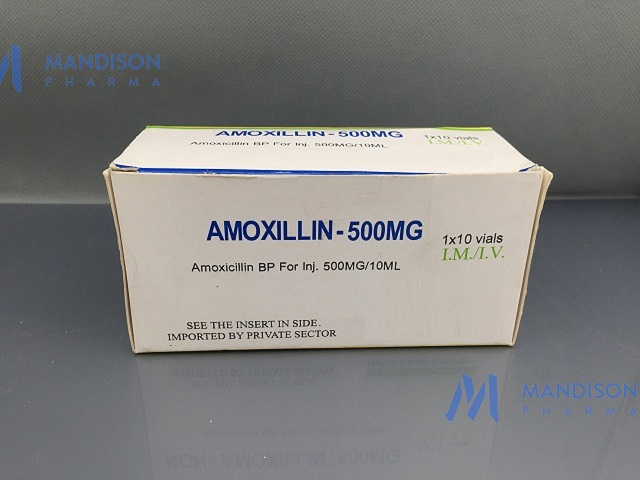 Amoxicillin for injection