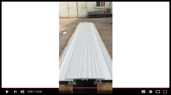 how to install floor parking expansion joint system