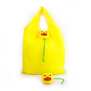 Eco Travel Yellow duck Foldable Handbag Grocery Tote