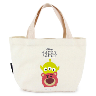 Disney Canvas Carry lunch Tote Storage Bag Picnic bag