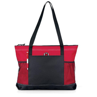 Zippered Oxford Tote