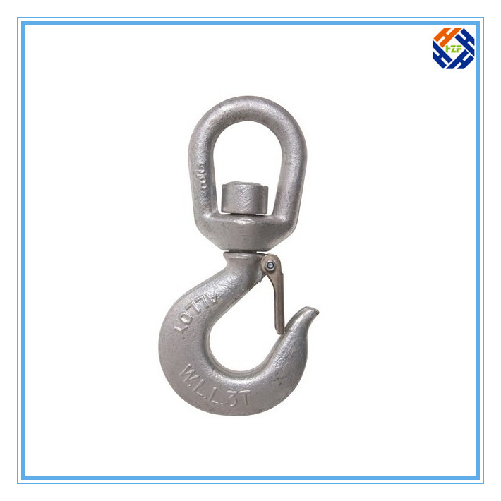 Alloy Steel Snap Hook with Latch-4