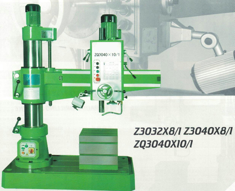 RADIAL DRILLING MACHINE Z3040X8/1