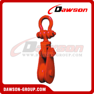 DS-B063 Tipo de liga tipo Champion Snatch Block com Shackle