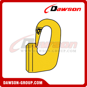 G80 / Grade 80 Special Weld On Hook com trava de molde