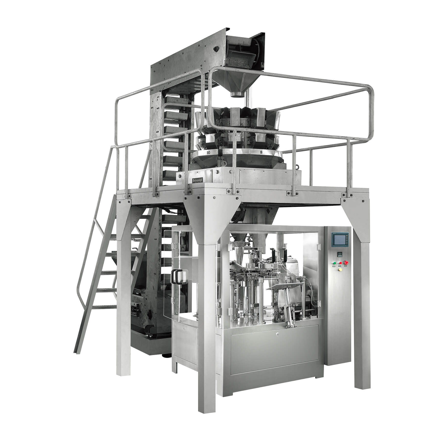TS6200S Automatic Solid/Grain Rotary Weighing & Packaging Machine ...