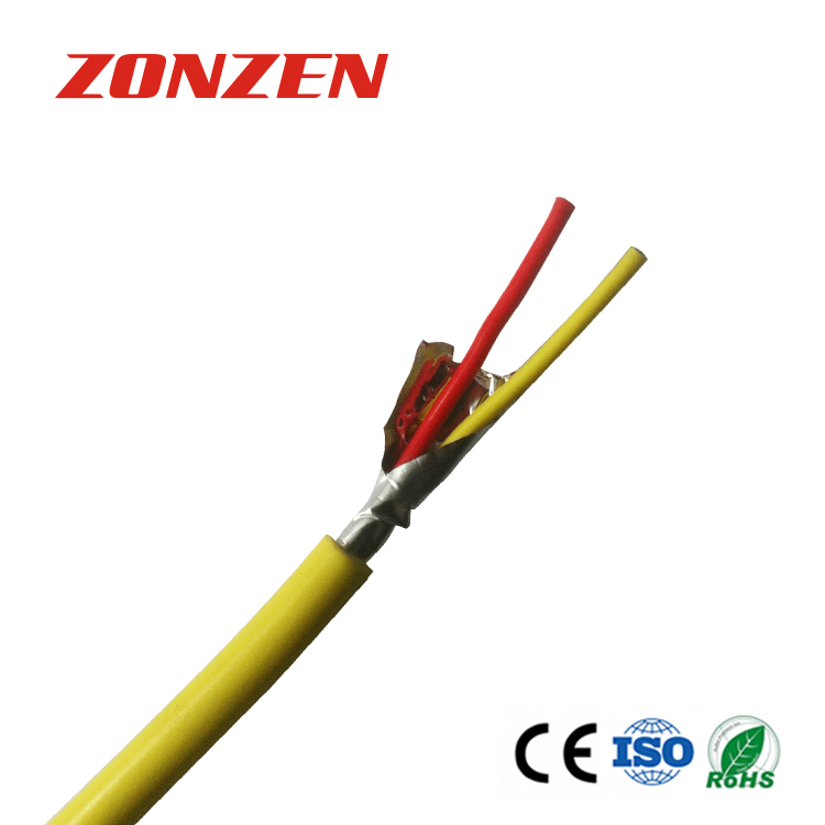 PVC insulated thermocouple extension wire with aluminum mylar tape ...