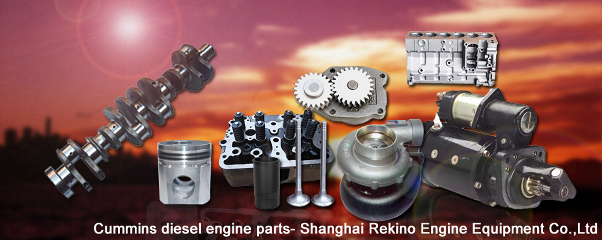 Rekino Cummins Engine parts
