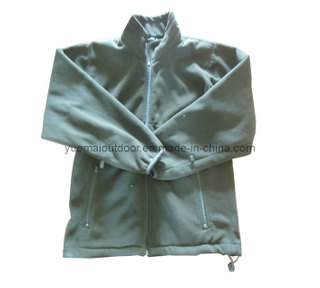 High Quality Army Detachalbe Fleece Jacket
