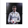 A4 size hard cover high school student notebook 8mm single line football star