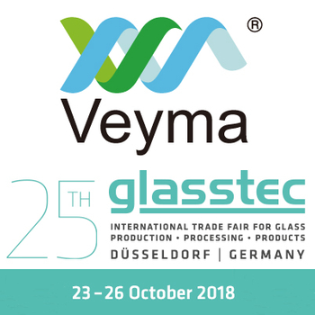 Veyma will attend the 25th Glasstec Fair in Düsseldorf Germany