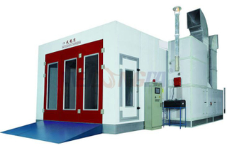 Schneider Touch Screen With Heat Recycling System Spray Booth