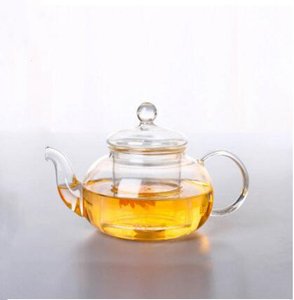 Glass teapots,glass kettle,made of heat-resistant glass,borosilicate glass with filter