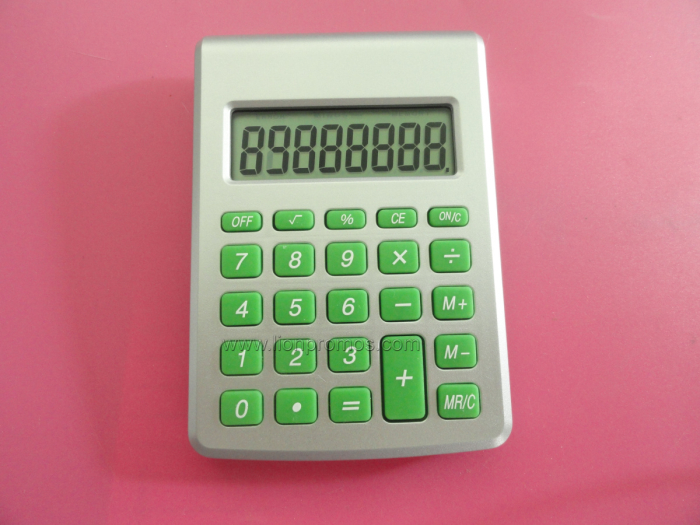 Promotional Eco-Friendly Water Powered Calculator