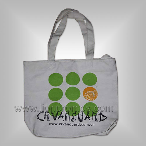 Custom Logo Printed Eco Friendly Cotton Canvas Shopping Bag