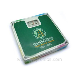 Bank Promotional Gift Custom Logo Printed Mechanical Bath Scale