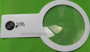 Private Logo Older People Promotional Giveaways Gift Hand Held 3X Reading PVC Fresnel Magnifier