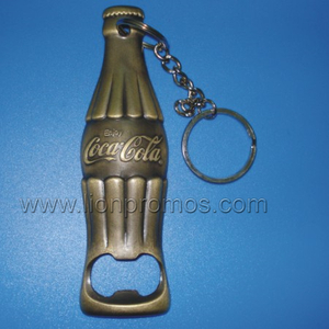Coca Cola Bottle Shape Metal Bottle Opener