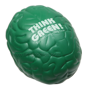 Brain,Bone Shape Medical Gift PU Stress Reliever