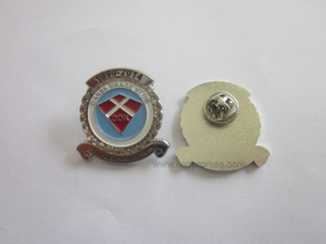 Custom Shape Promotional Gift Zinc Alloy Lapel Pin