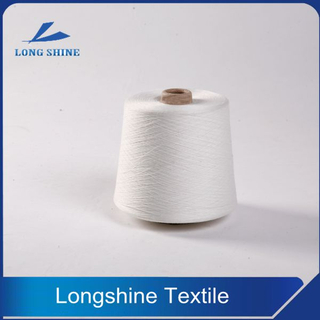 Raw White Virgin Grade Polyester Core Spandex Yarn Producer